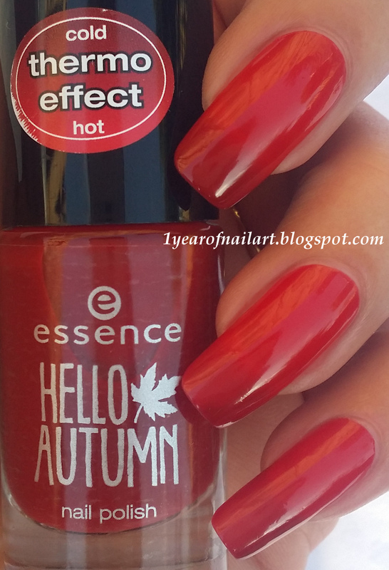 Essence beauti-FALL red Swatch by Margriet Sijperda