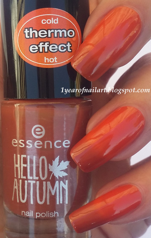 Essence meet my pumpkin Swatch by Margriet Sijperda