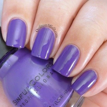 Sinful Colors Amethyst Swatch by Michelle
