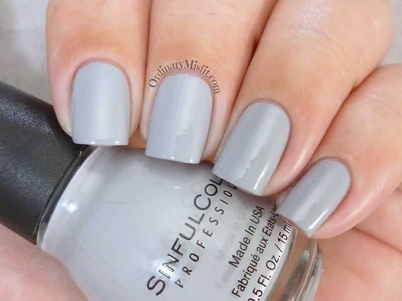 Sinful Colors Cool Gray Swatch by Michelle