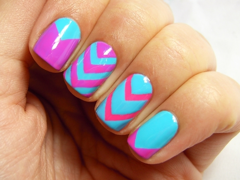 piCture pOlish Blog Fest 2014 nail art by nihrida