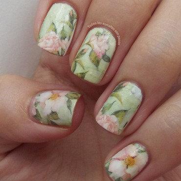 Water decals flowers bornpretty store todos los esmaltes son pocos thumb370f