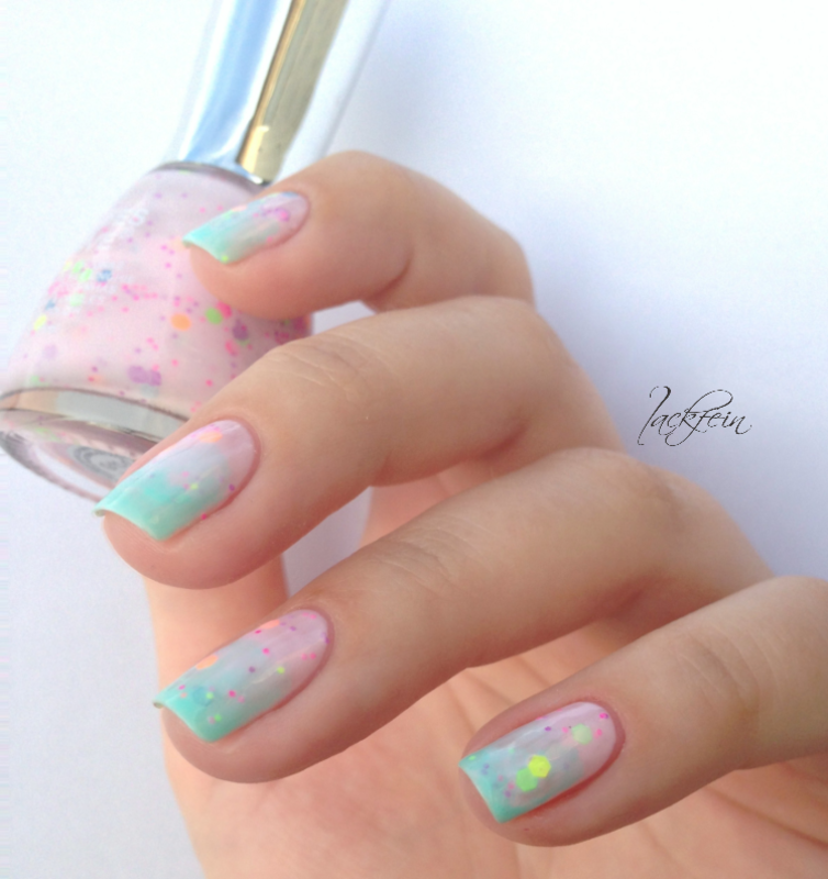 Polly Pocket nail art by lackfein
