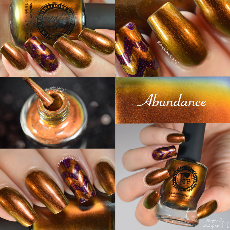 ILNP Abundance Swatch by simplynailogical