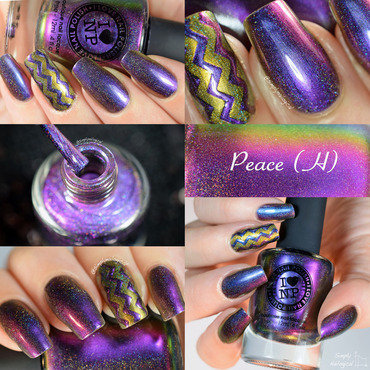 ILNP Peace (H) Swatch by simplynailogical