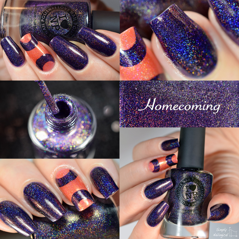 ILNP Homecoming Swatch by simplynailogical