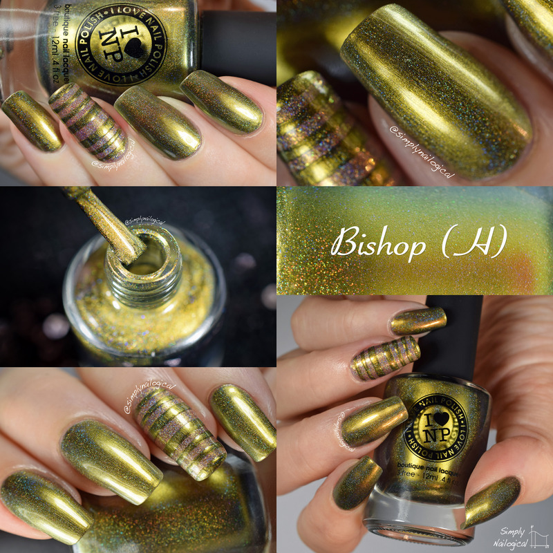 ILNP Bishop (H) Swatch by simplynailogical