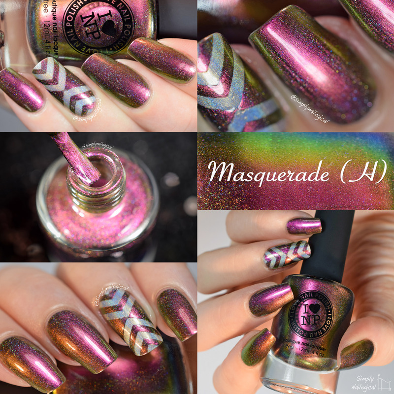 Ilnp Masquerade H Swatch By Simplynailogical Nailpolis Museum