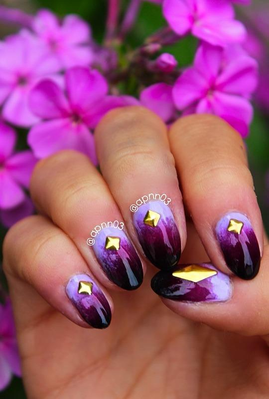 Purple Magic nail art by Amanda - Nailpolis: Museum of Nail Art