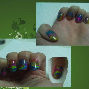 StarFlareStickers nail art by JessJar19