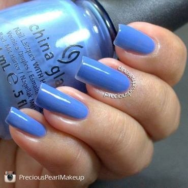 China Glaze Secret Peri-Wink-Le Swatch by Pearl P.