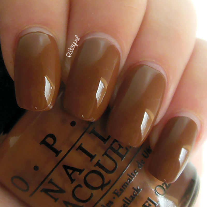 OPI Ice Bergers & Fries Swatch by Ritsy NL