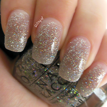 OPI My Voice is a Little Norse Swatch by Ritsy NL