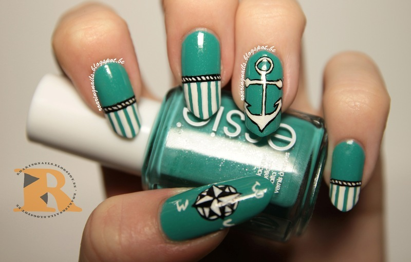 Mani Swap with NYAN nail art by Robin