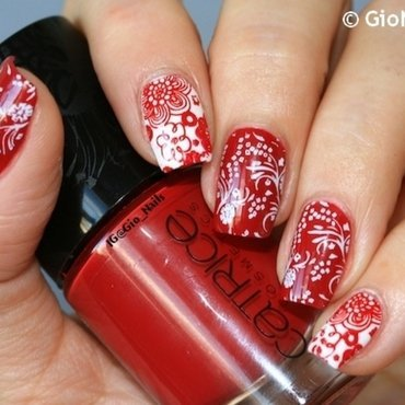 Gimme Flowers Please! nail art by Giovanna - GioNails