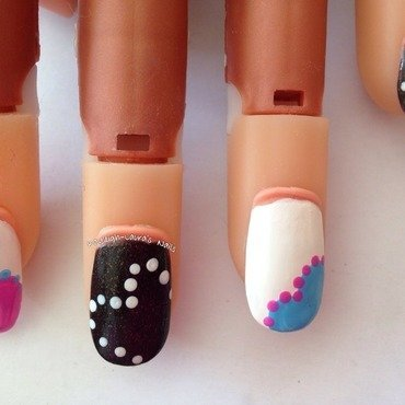 Deep love nail art by Kayleigh-Laura Townend