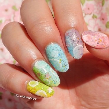 Shojo Dream nail art by Anhy