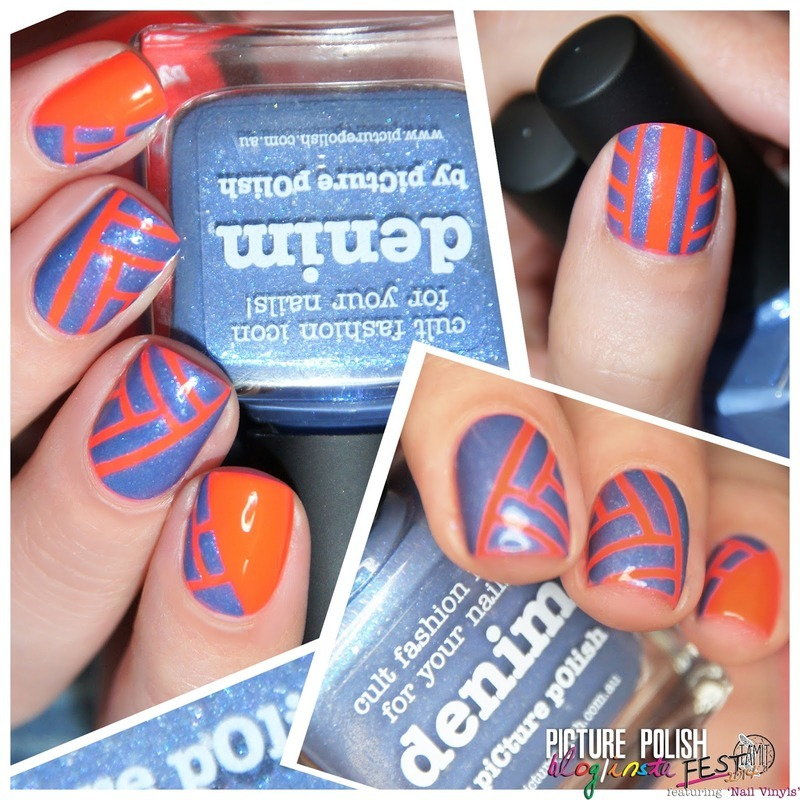 stripes stripes stripes! nail art by Paulina