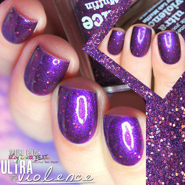 piCture pOlish ultra violence Swatch by Paulina