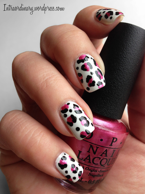 Leopard Print Nails nail art by Katie