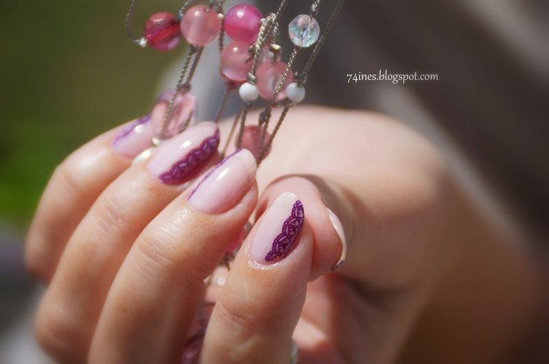 Don't cry nail art by 74ines