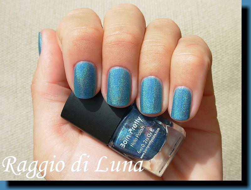 Born Pretty Store Holographic n° 10 Swatch by Tanja