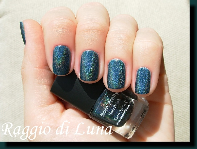 Born Pretty Store Holographic n° 12 Swatch by Tanja