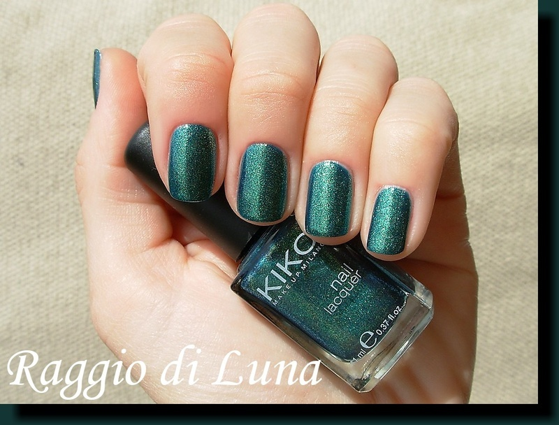 Kiko n° 532 Pearly Amazon Green Swatch by Tanja