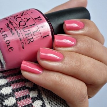 OPI Elephantastic Pink Swatch by Romana