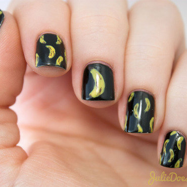 #31DC2014 Day Three Yellow nail art by Julie
