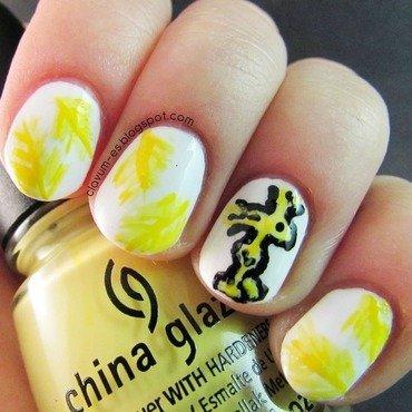 Woodstock Nail Art nail art by Melissa (Clavum Es)