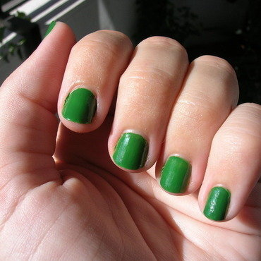 Loreal Green Couture Swatch by Mayusky