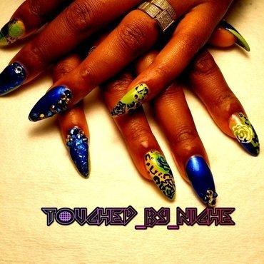 Saucy Mixup nail art by Niche