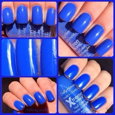 Sally Hansen Pacific Blue (original) Swatch by Nicole