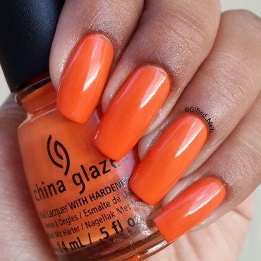 China Glaze Stoked To Be Soaked Swatch by Gifted_nails