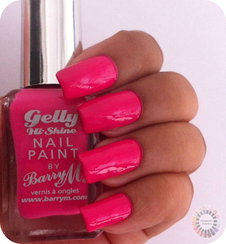 Barry M Pink Punch Swatch by Sandy