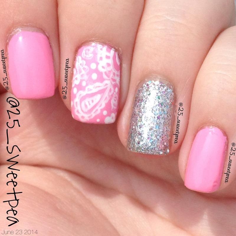Paisleys nail art by 25_sweetpea
