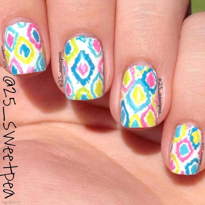 Summer Fun  nail art by 25_sweetpea