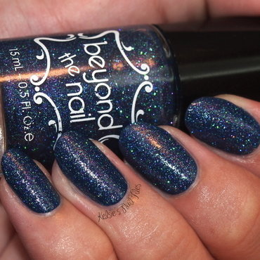 China Glaze First mate and Beyond The Nail Mermaid's Tail Swatch by Kelsie