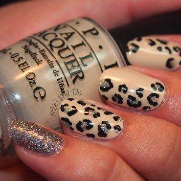 OPI Leopard Print Nail Art  nail art by Kelsie
