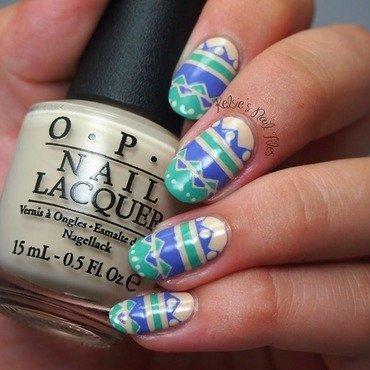Summer Tribal Nail Art nail art by Kelsie