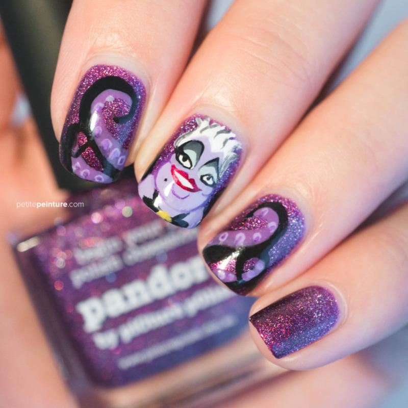Ursula nail art by Petite Peinture