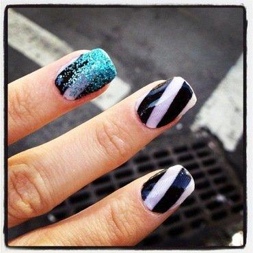 street walker. nail art by NAMInails