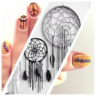 livin the dream. nail art by NAMInails