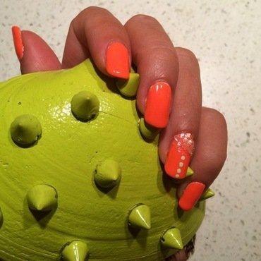shell yeah. nail art by NAMInails