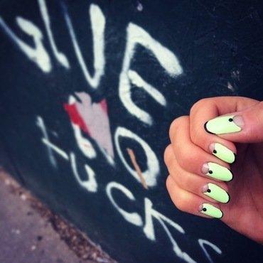 give no fucks. nail art by NAMInails