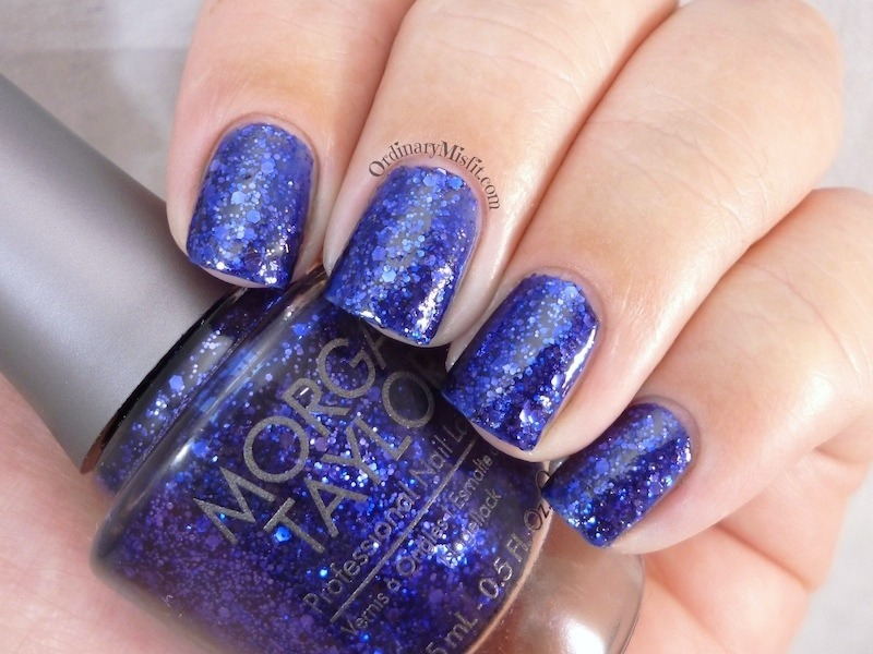 Morgan Taylor Regal as a royal Swatch by Michelle