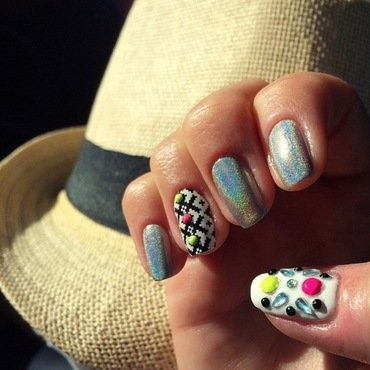 on the road trippin. nail art by NAMInails