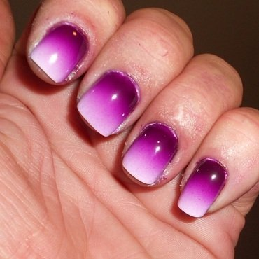 Casey Ombre nail art by Steve Winfield