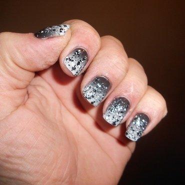Prom Night nail art by Steve Winfield